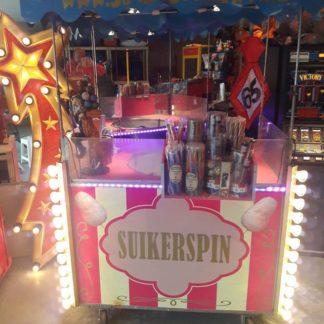 Suikerspin & Popcorn