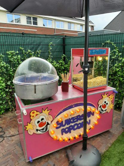 popcorn en suikerspin express jb-amusement